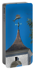 Sailfish Weather Vane At Palm Beach Shores Portable Battery Charger