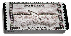 Salmon King Of The Rivers Portable Battery Charger