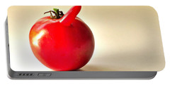 Saucy Tomato Portable Battery Charger by Sean Griffin