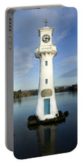 Portable Battery Charger featuring the photograph Scott Memorial Roath Park Cardiff by Steve Purnell
