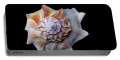 Portable Battery Charger featuring the photograph Seashell 1 by Deniece Platt