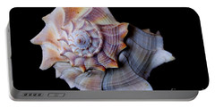 Portable Battery Charger featuring the photograph Seashell 5 by Deniece Platt