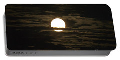 Portable Battery Charger featuring the photograph Seneca Lake Moon by William Norton