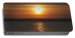 Portable Battery Charger featuring the photograph Seneca Lake Sunrise by William Norton