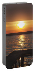 Portable Battery Charger featuring the photograph Seneca Lake by William Norton