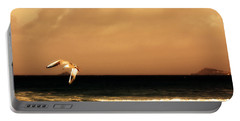 Portable Battery Charger featuring the photograph Sennen Seagull by Linsey Williams