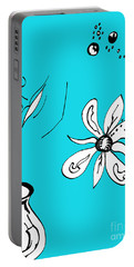 Serenity In Blue Portable Battery Charger