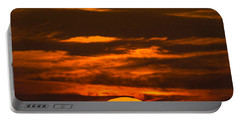Setting Sun Flyby Portable Battery Charger by Shannon Harrington