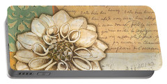 Shabby Chic Floral 1 Portable Battery Charger