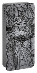 Portable Battery Charger featuring the drawing Shango by Gloria Ssali