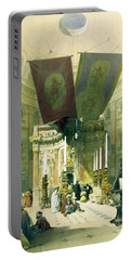 Shrine Of The Holy Sepulchre April 10th 1839 Portable Battery Charger