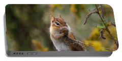Shy Little Chipmunk Portable Battery Charger