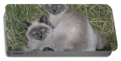 Siamese Haystack Portable Battery Charger