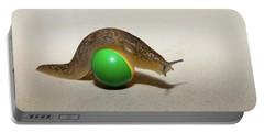 Slug On The Ball Portable Battery Charger