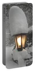 Snow Capped Portable Battery Charger