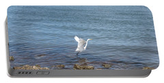 Portable Battery Charger featuring the photograph Snowy Egret by Marilyn Wilson