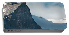 Portable Battery Charger featuring the photograph Snowy Flatirons by Colleen Coccia