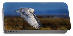 Snowy Owl 1b Portable Battery Charger