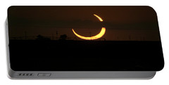 Solar Eclipse In Lubbock Texas Portable Battery Charger