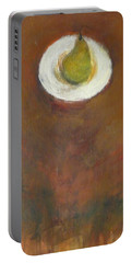 Portable Battery Charger featuring the painting Solo by Kathleen Grace