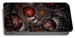 Portable Battery Charger featuring the digital art Soul Of Osiris by NirvanaBlues