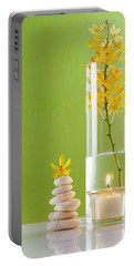Spa Concepts With Green Background Portable Battery Charger