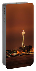 Space Needle Morning Portable Battery Charger