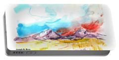 Spanish Peaks Study Portable Battery Charger