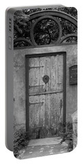 Spanish Renaissance Courtyard Door Portable Battery Charger