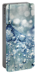Sparkling Dandy In Blue Portable Battery Charger