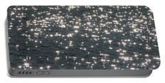 Portable Battery Charger featuring the photograph Shining Water by Maciek Froncisz