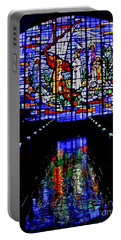 House Of God - Spiritual Awakening Portable Battery Charger by Carol F Austin