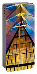 Spiritual Peace Portable Battery Charger by Colleen Coccia