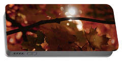 Portable Battery Charger featuring the photograph Spotlight On Fall by Cheryl Baxter