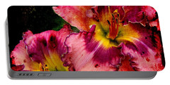 Portable Battery Charger featuring the photograph Spring Blooms by Davandra Cribbie