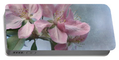 Spring Blossoms For The Cure Portable Battery Charger