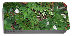 Spring Ground Cover Portable Battery Charger