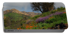 Portable Battery Charger featuring the photograph Spring In Santa Barbara by Lynn Bauer