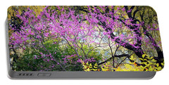 Spring Trees In San Antonio Portable Battery Charger
