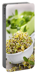 Sprouts In Cups Portable Battery Charger