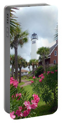 St. George Island Lighthouse Portable Battery Charger