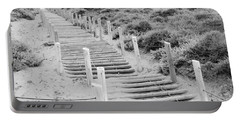 Stairs At Baker Beach Portable Battery Charger