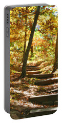 Portable Battery Charger featuring the photograph Stairway To Heaven by Peggy Franz