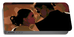 Star Crossed Lovers Portable Battery Charger by George Pedro