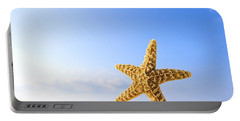 Starfish In Front Of The Ocean Portable Battery Charger