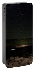 Portable Battery Charger featuring the photograph Stars Over Otter Cove by Brent L Ander