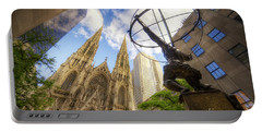 Statue And Spires Portable Battery Charger