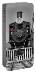 Portable Battery Charger featuring the photograph Steam Engine Train by Deniece Platt