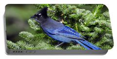 Stellers Jay Portable Battery Charger by Sharon Talson
