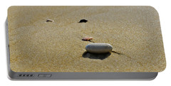 Stones In The Sand Portable Battery Charger